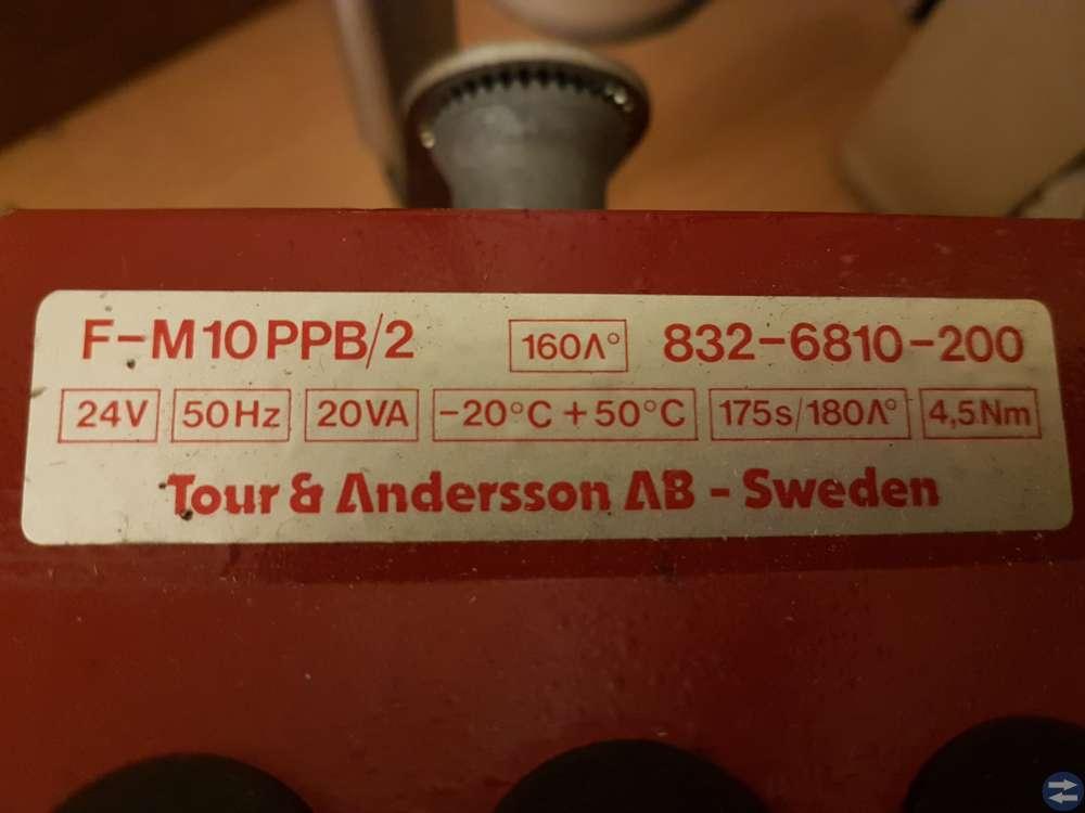 2st Spjällmotorer Tour&Andersson nya