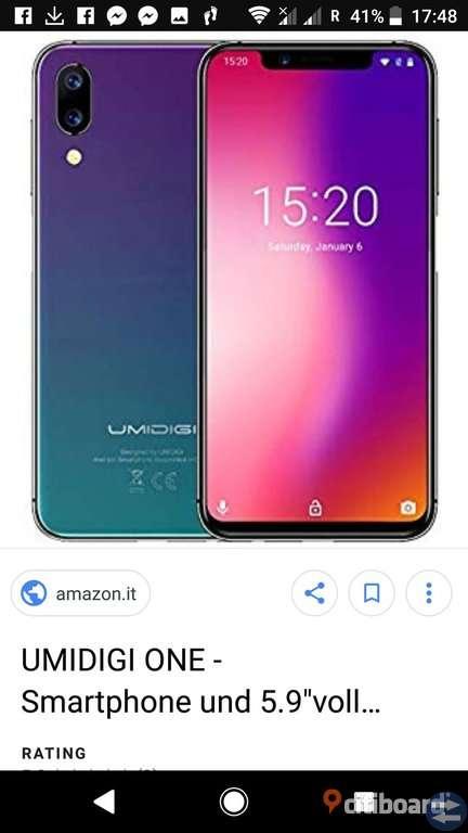 UMIDIGI  4G   5.86 inch Android 8.1 MT6763 Octa Core 2.0GHz 4GB RAM 64GB ROM HD 32GB