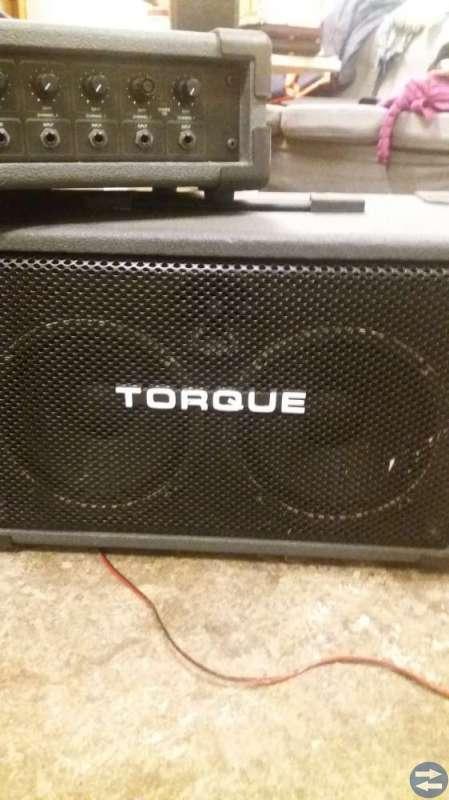 Tourqe slutsteg + högtalare