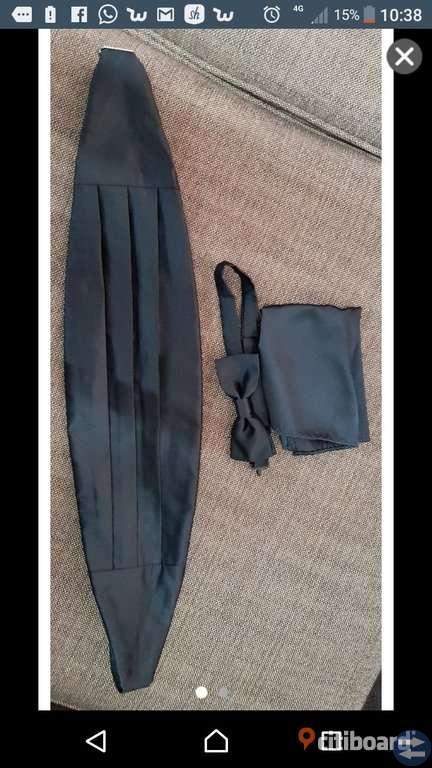 Fluga - bält - näsduk set