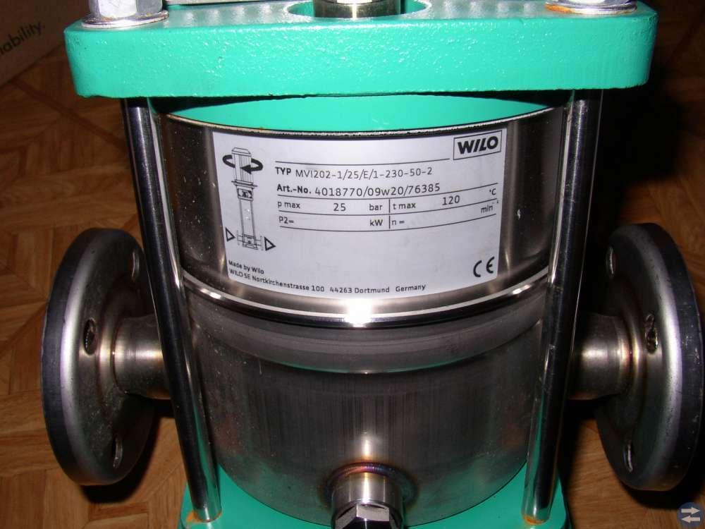 Vattenpump (2av2) Wilo mvi202-1-25-E-1-230-50