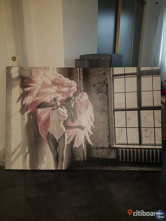Snygg canvastavla 100×150cm