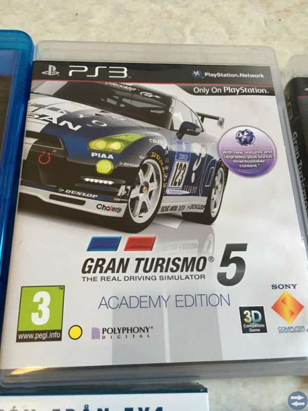 PS3 spel/serier/film PAKET