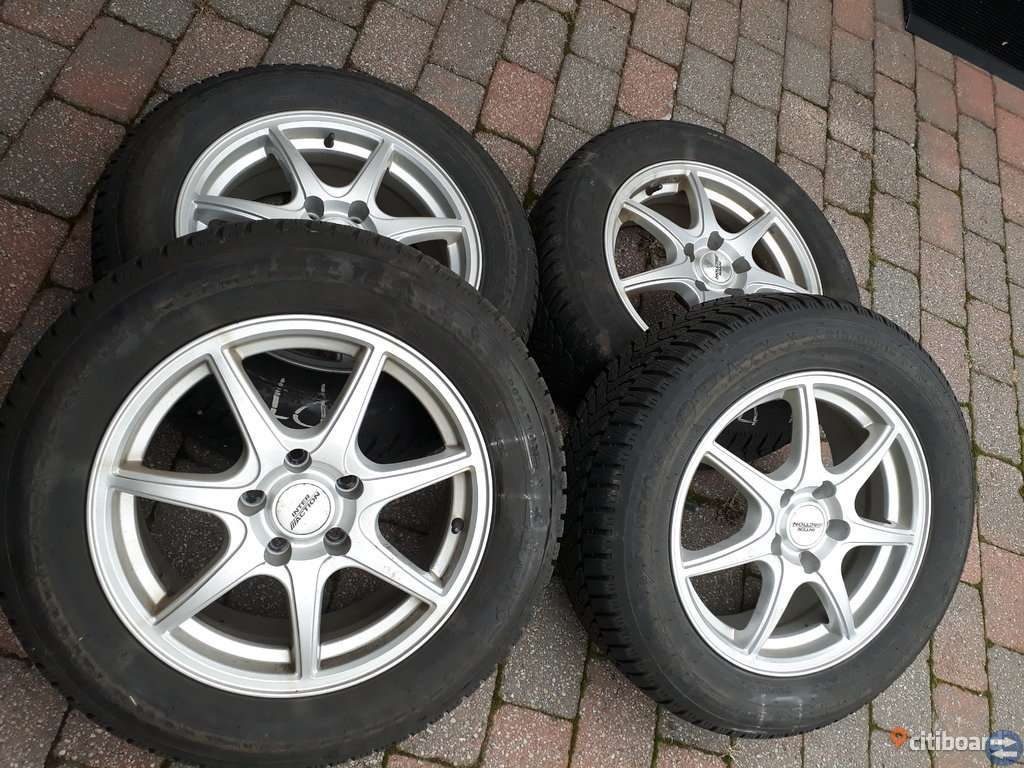 Vinterhjul. Dunlop Wintersport 5, Skoda, Volkswagen