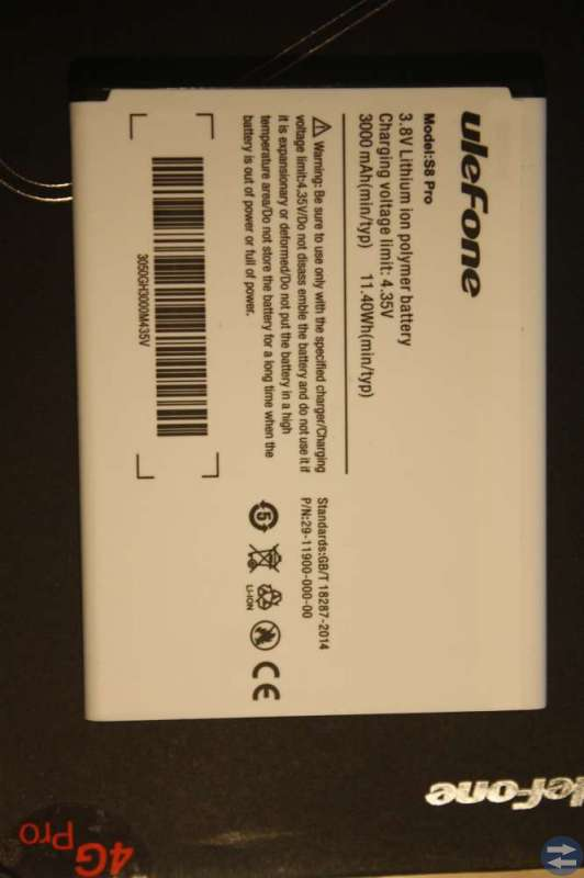 Ulefone S8 Pro Reservdelar