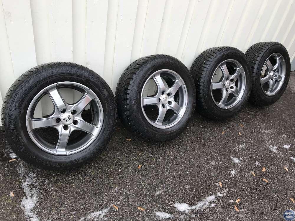 Vinterhjul på Alu-fälg