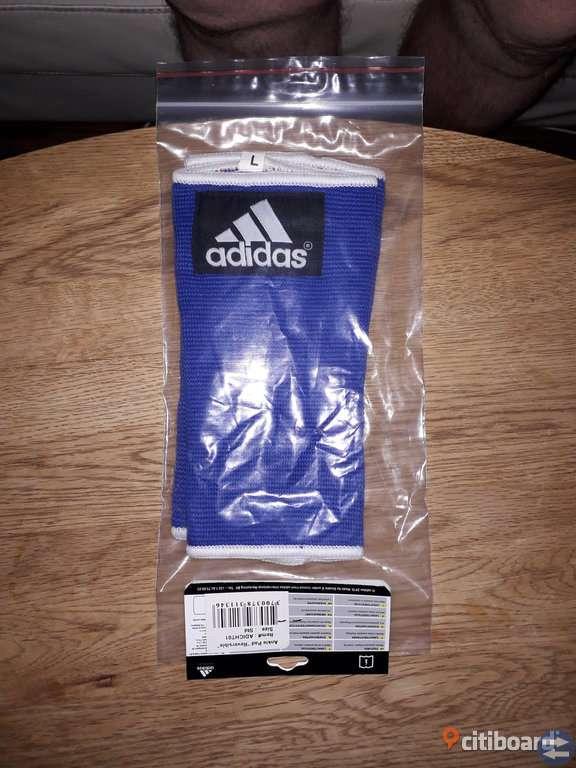 Helt nya -Ankle Pads-Adidas, Blå/Röd.