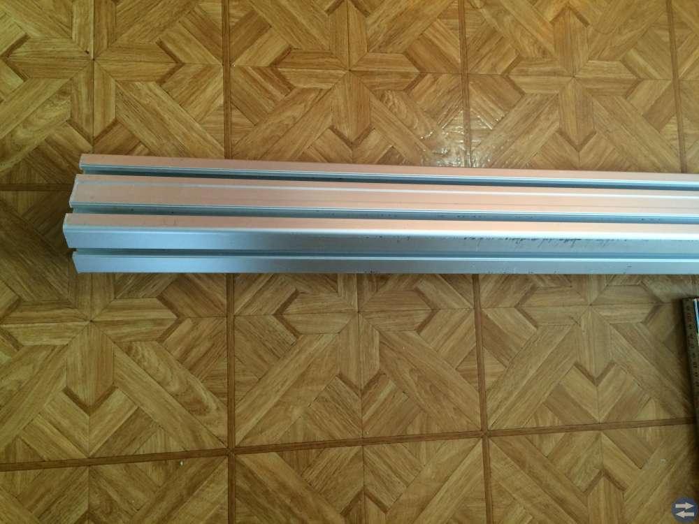 Aluminiumprofil 5 st 60x90H  1178 mm