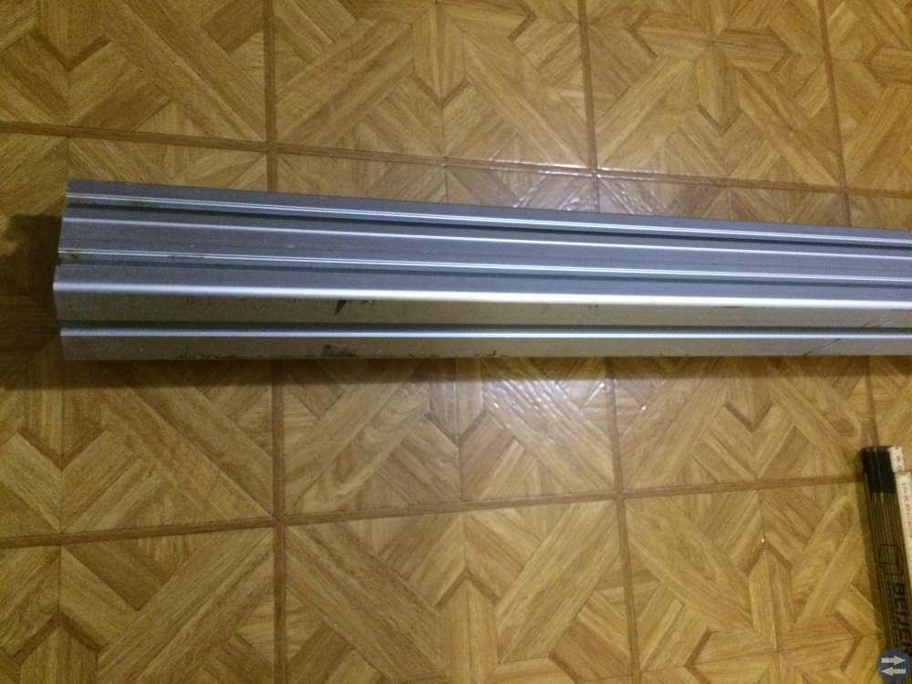 Aluminiumprofil Bosch 2 st 60x90H Längd 1238 mm
