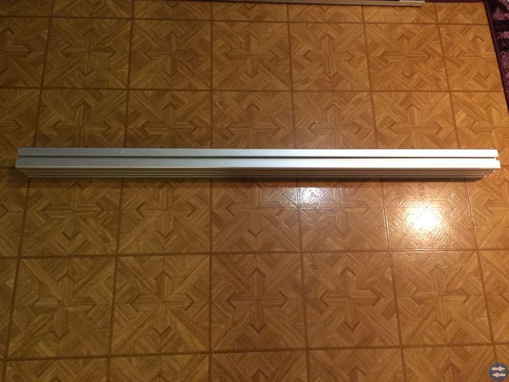 Aluminiumprofil Bosch 4 st 60x90H Längd 1298 mm