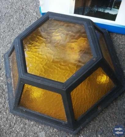 Fasadbelysning -2 st lampor