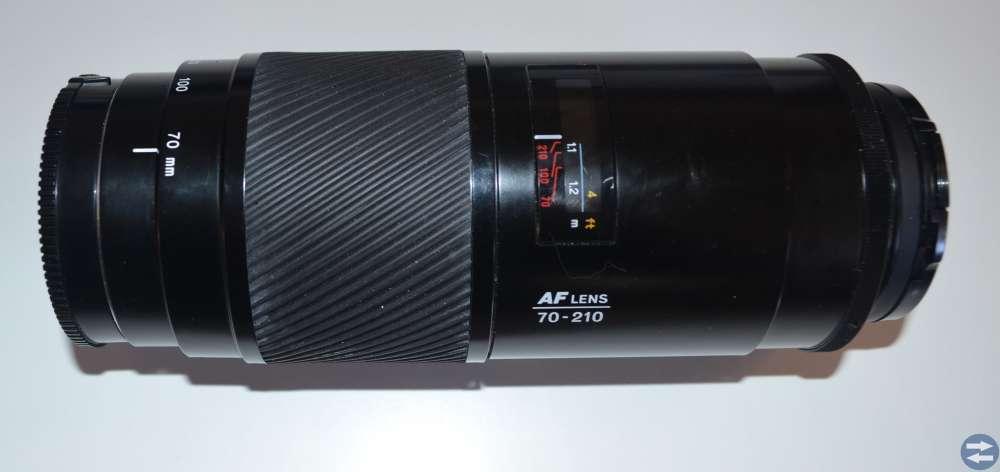 Minolta objektiv 70-210mm zoom