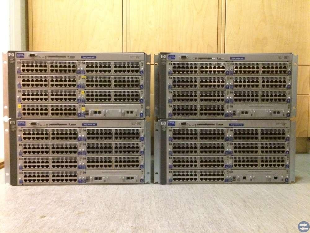 Switch HP Procurve 4108gl 4 stycken