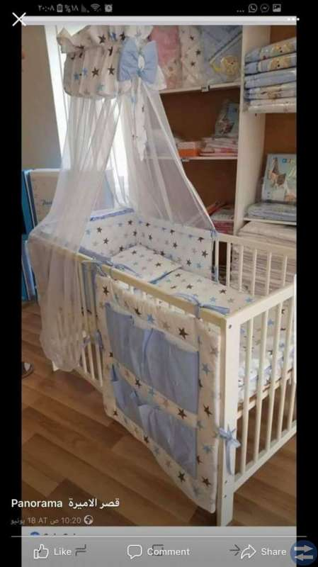 Baby säng kläder