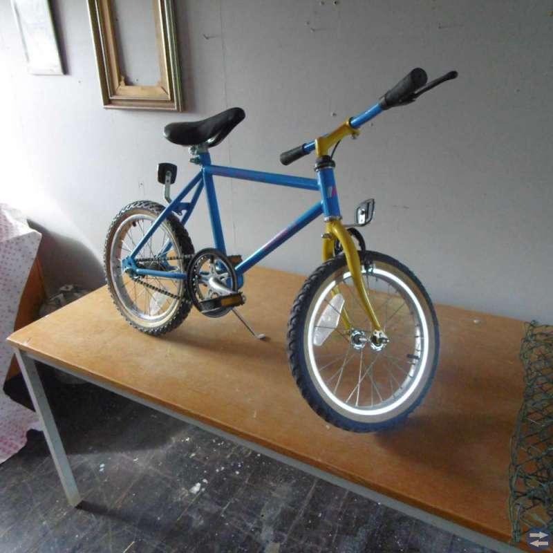 Häftig barn cykel