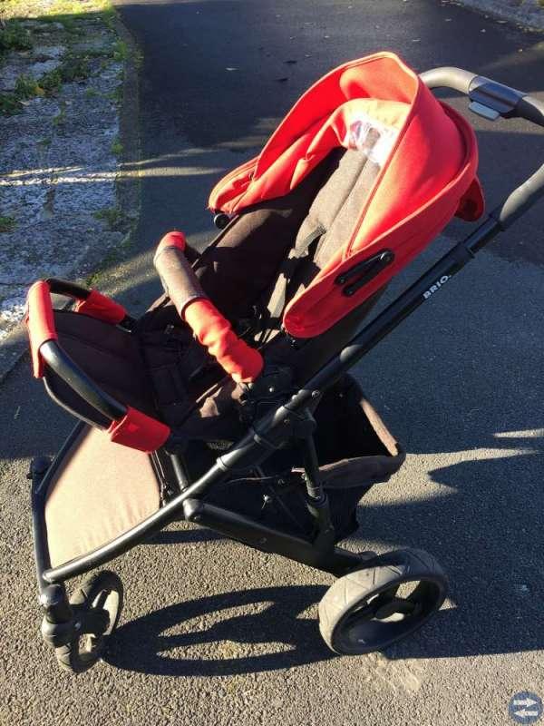 Brio barnvagn