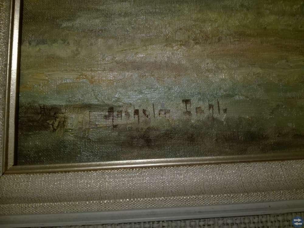 Tavla Målad av Anselm Dahl
