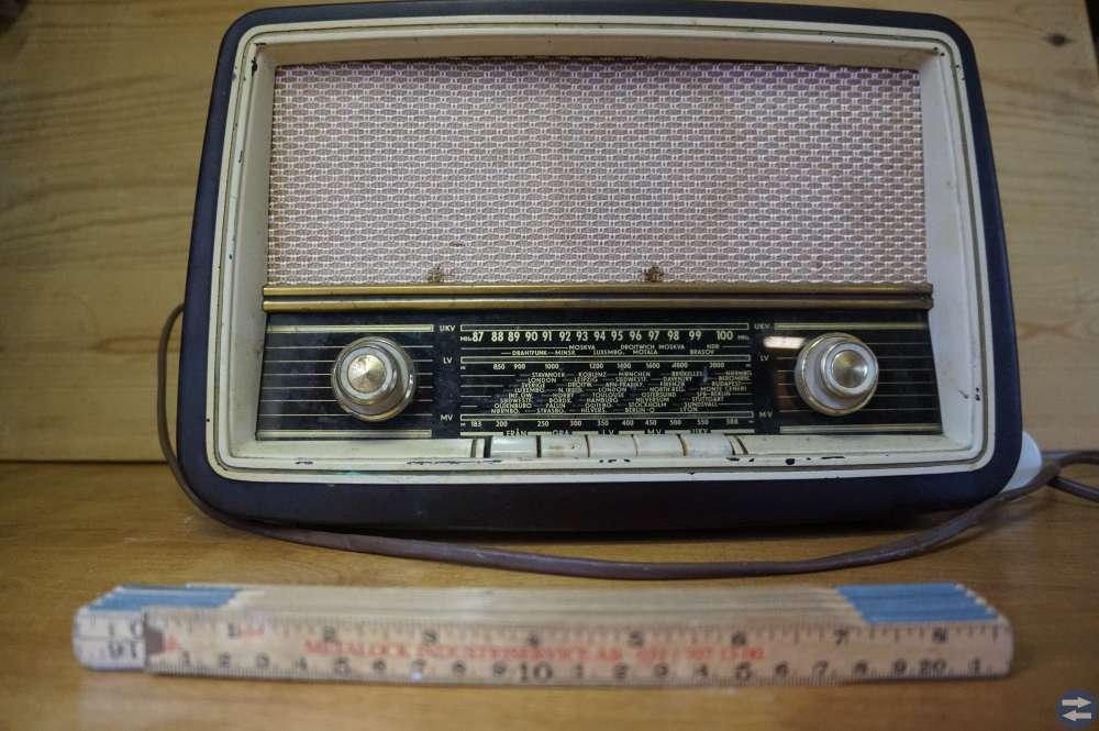 Gamla radioapparater