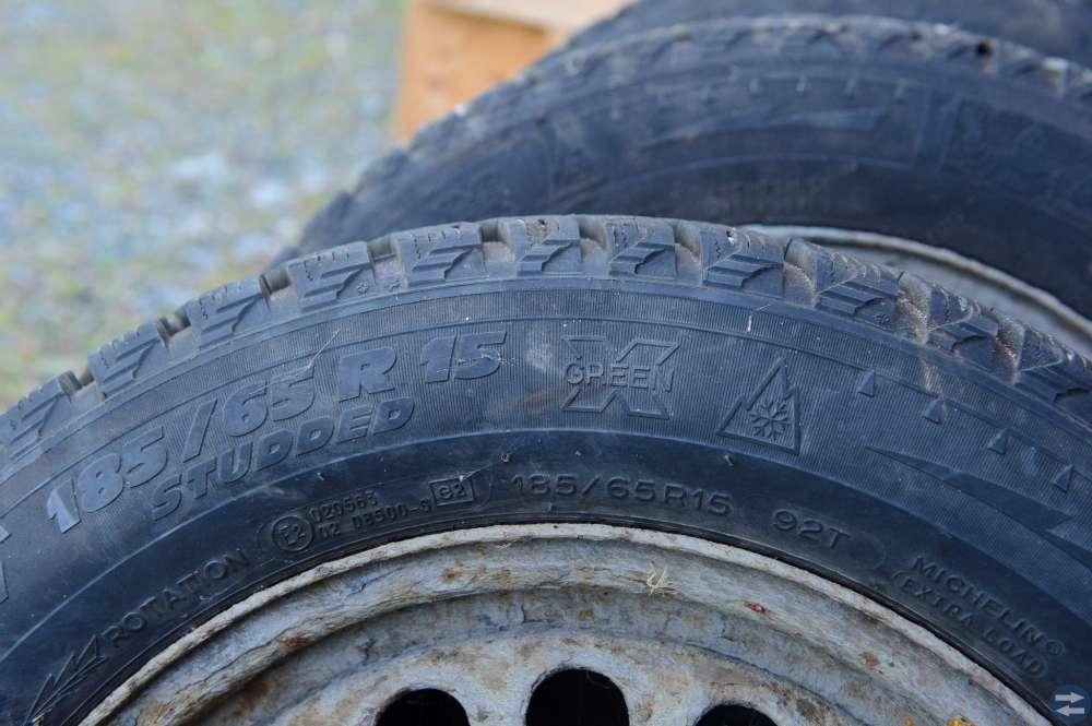 Dubbade Michelin 185/65