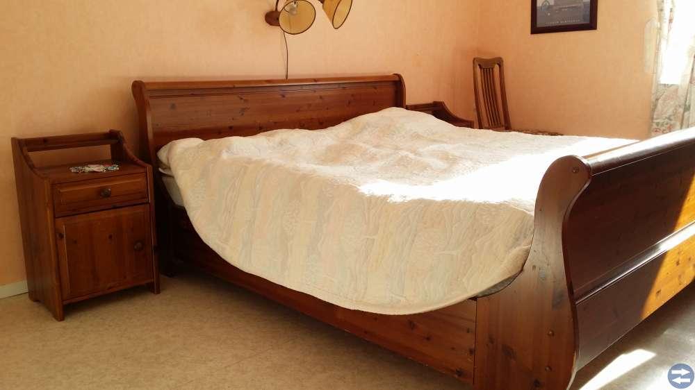 Sängram + 2 sängbord