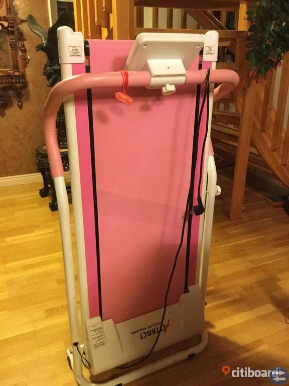 Attract löpband rosa