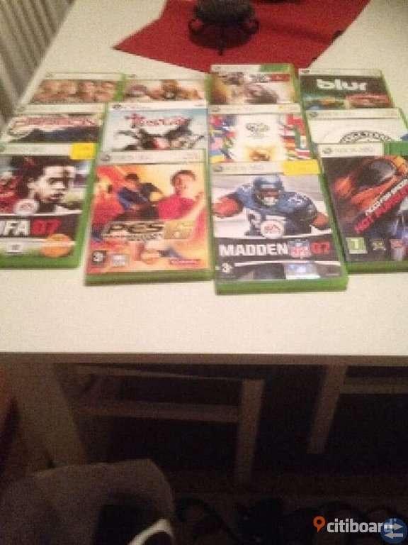 Xbox + 10 spel