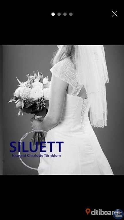 Bröllopsklänning säljes!