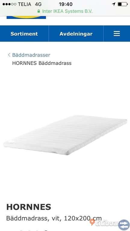 120 Ikea säng