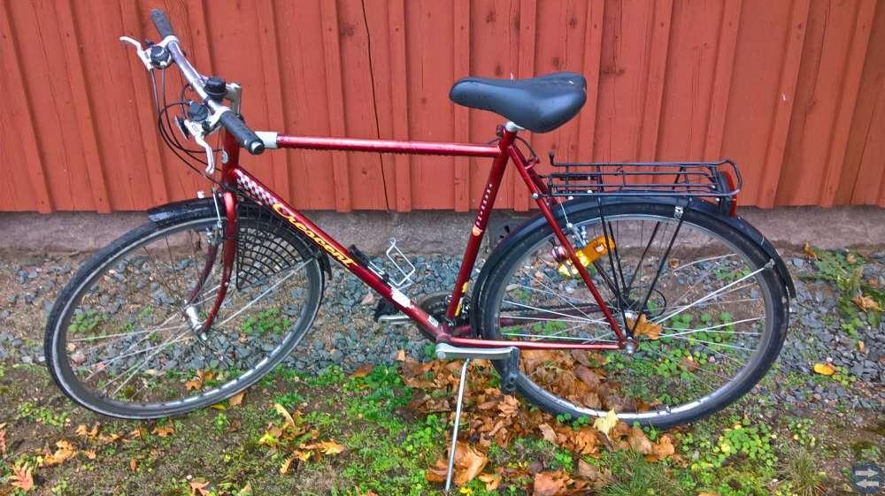 Cykel  21 växlad