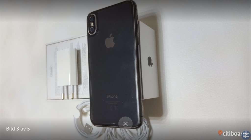 IPhone x 256GB Olåst