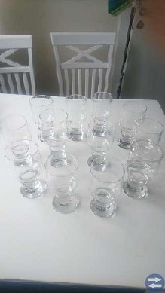 Gutår Vin /Öl glas Bertil Vallien