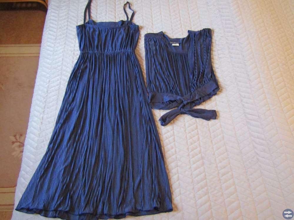 Pliserad kjol med tillhörande topp