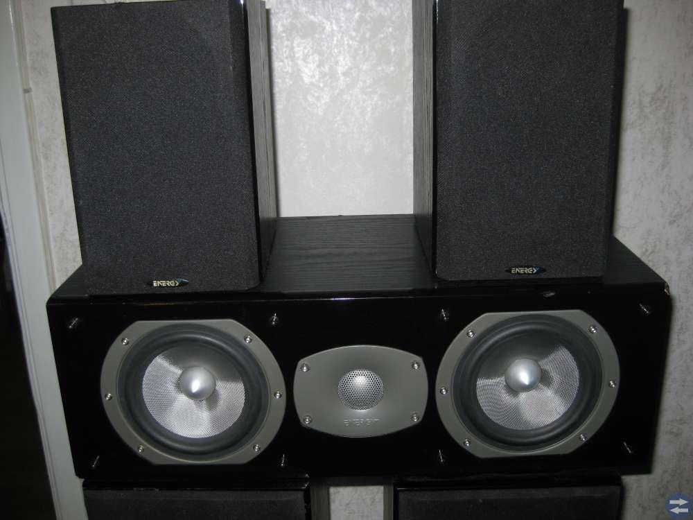 5 st fina och bra ljud känt  ENEREY högtalare