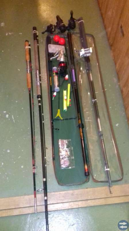 Blandad fiskegrejor