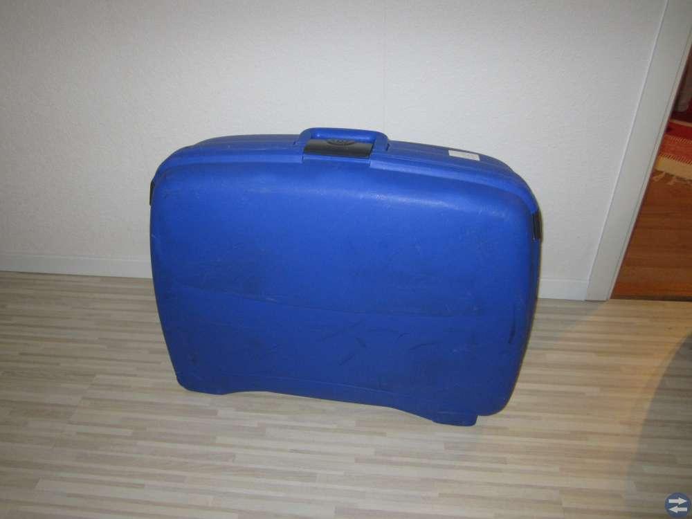 Resväsker två st.