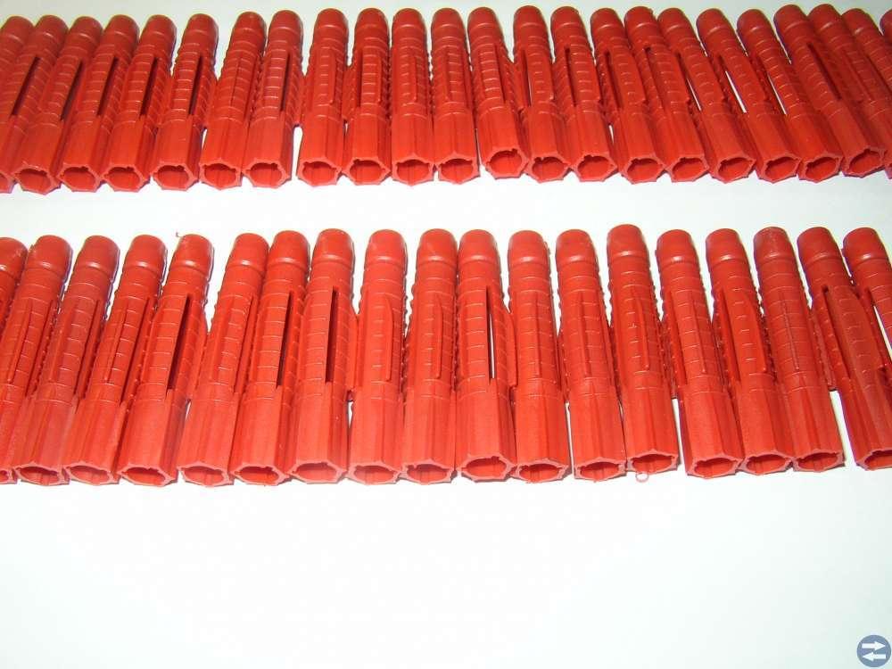 Skruvplugg 76 stycken 10x60 mm