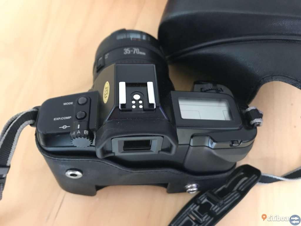 Canon EOS 650 och stativ Viron VT-328