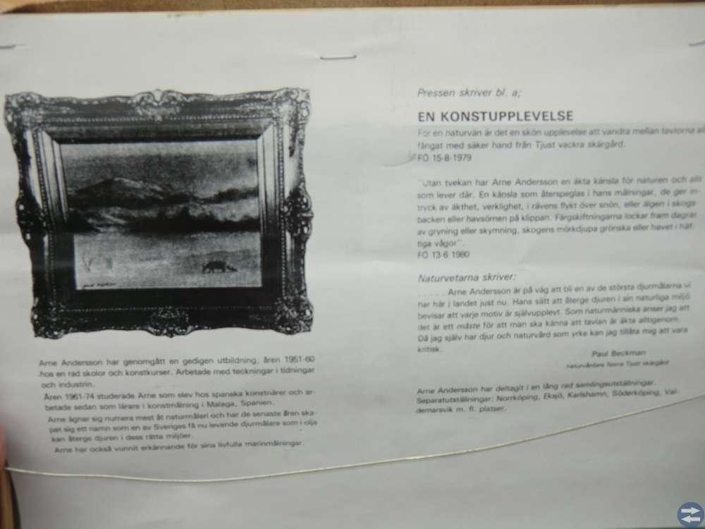 Nya tavlor från 80-90 Talet  av Arne Andersson
