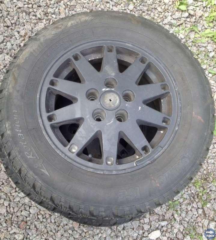 Vinterhjul på aluminiumfälgar