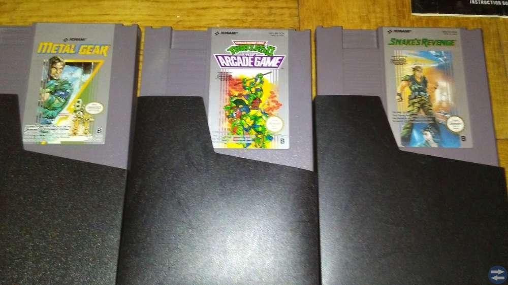 Fyra Nintendo 8-bit spel med modern HDMI-konsol