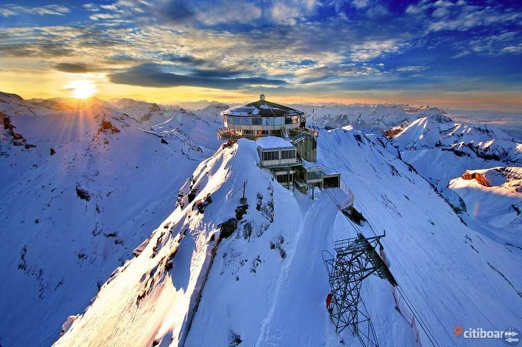 Skidsemester i Alperna