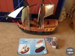 PLAYMOBIL PIRATSKEPP