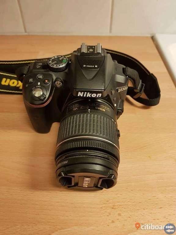 Nikon D5300 Systemkamera & ett annat objektiv