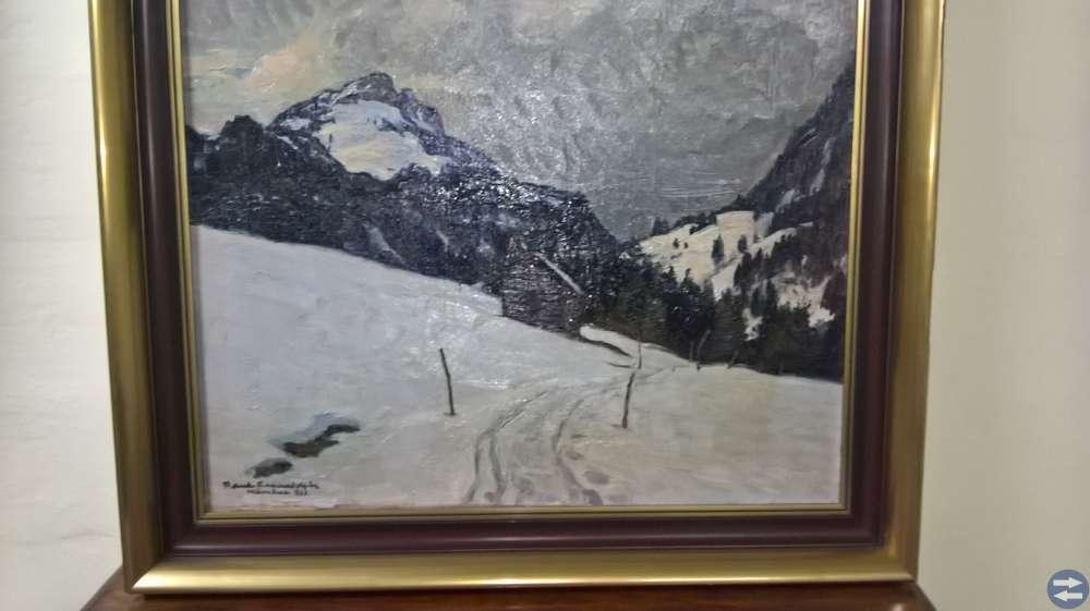 Oljemålning från 1920 av R.Schraudolph