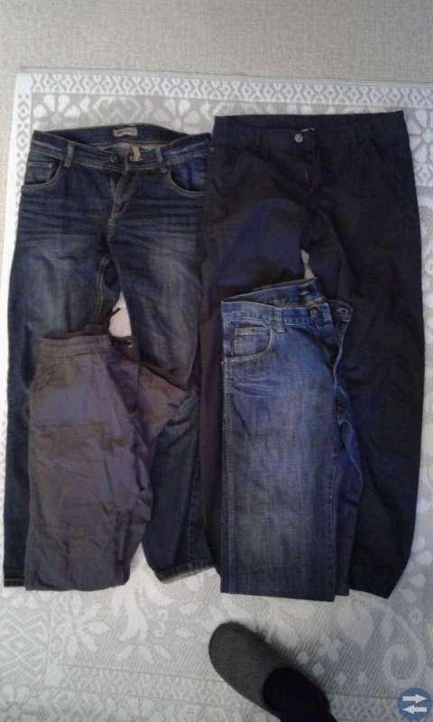Vinterjacka, kille 12-14 år, byxor, klädpaket