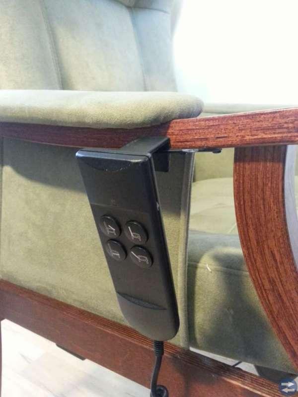 Ställbar eldriven seniorfåtölj, Nordic Easy Chair