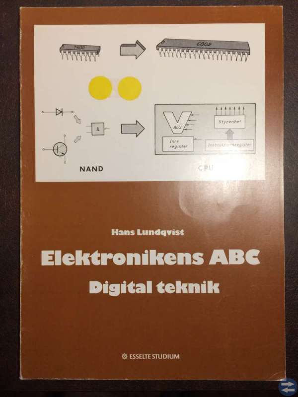 Elektronikens ABC Digital teknik -- Hans Lundqvist