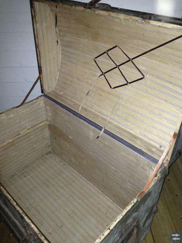 Gammal fin koffert
