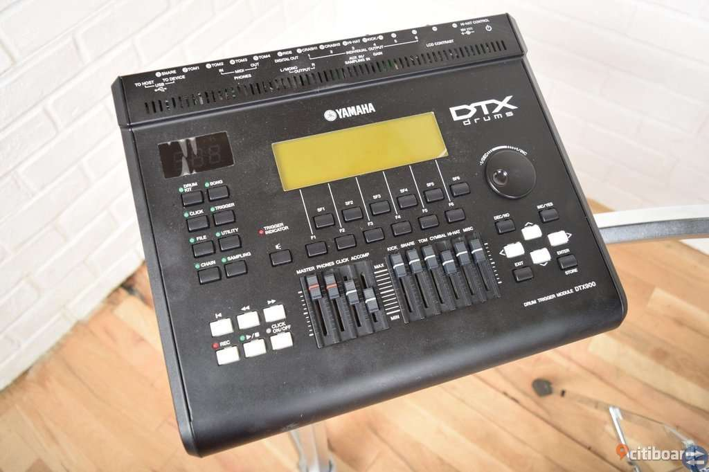 Yamaha DTX950K digital elektronisk trumssats kit