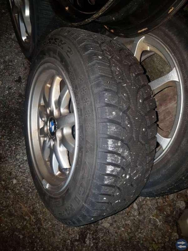 Vinterhjul BMW 316 Sarek 2